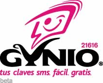 claves sms gynio Claves SMS gratis con Gynio