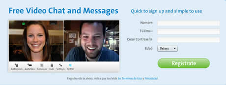 Video chat y enviar videos por email con Tokbox - video-chat-gratis