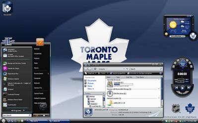 Temas Para Windows XP y Vista Con MyColors - Tema-Toronto