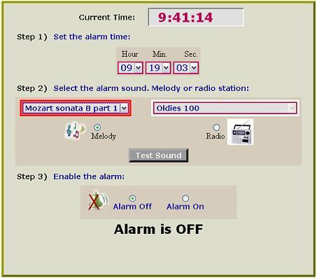 MusicAlarmClock despierta con Música en las mañanas