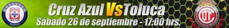 Futbol mexicano online, Jornada 10 Apertura 2009 - futbol-online-cruz-azul-toluca