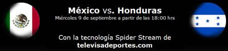 mexico vs honduras televisa deportes Mexico vs Honduras en vivo desde el azteca