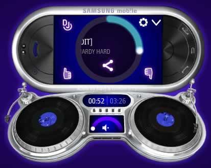 Radio online, Samsung Beat edition - radio-online-samsung-dj