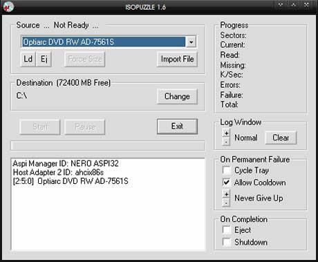 Recuperar informacion de dvds y cds dañados con IsoPuzzle - reparar-dvds-y-cds-rayados