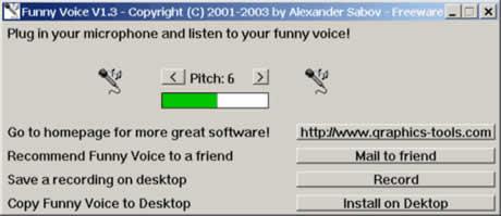Cambiar voz con Funny Voice - cambiar-voz