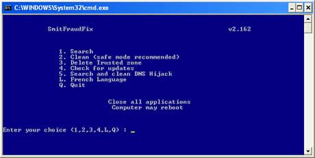Eliminar malware con SmitFraudFix - eliminar-malware