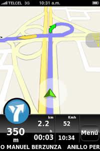 Navegador GPS para iPhone, NDrive - ndrive-navegador-gps