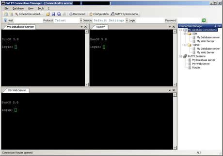 Administra tus conexiones de PuTTy con PuTTy Connection Manager - putty-connection-manager