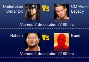 wwe smackdown online WWE Smackdown online, Viernes 2 de octubre