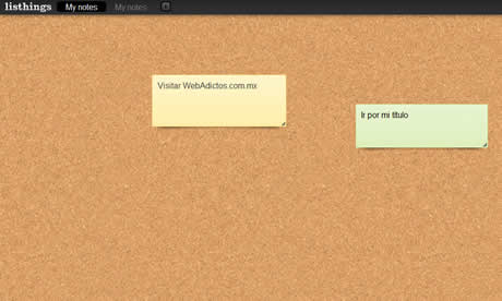 crear notas online Crear notas en linea en Listhings