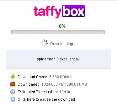 Descargar torrents legales con TaffyBox - descargar-torrents-gratis