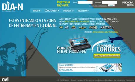 Gana un Nokia N97 y un viaje a londres en el Dia N de Nokia - dia-n-nokia