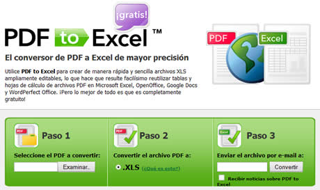 Convertir PDF a excel en PDFtoExcel - pdf-a-excel