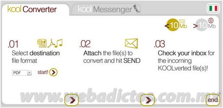 Convertir archivos con KoolWire - convertir-archivos