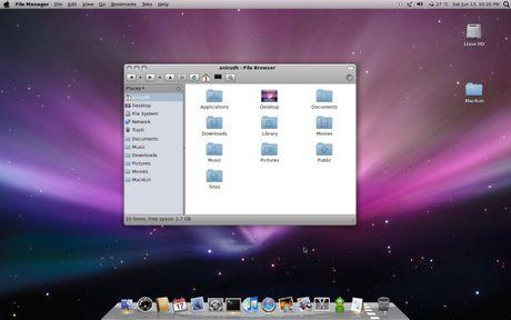 estilo mac ubuntu Temas ubuntu, Mac4Lin