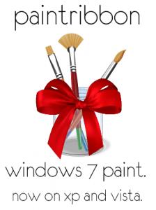 Paint de Windows 7 en XP o Vista con PaintRibbon - paintribbon-224x300