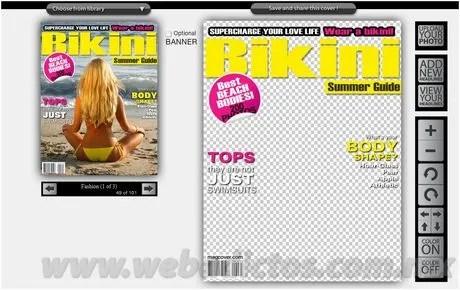 portadas de revistas Crea portadas de revistas con MagCover.com