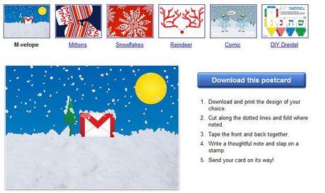 Tarjetas de navidad para imprimir de Google - postales-navidad-imprimir