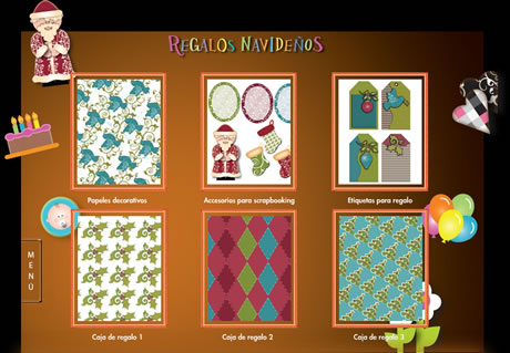 Regalos de navidad para imprimir y otros proyectos en HP - tarjetas-felicitacion-navidad