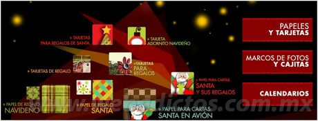 Adornos de navidad con Proyectos Creativos de HP - tarjetas-navidad-imprimir