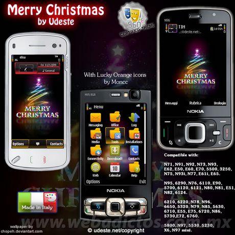 Temas nokia navidad, Merry Christmas - temas-nokia-navidad