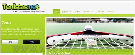 tenistas y padel Tenistas.net, red social para tenistas de España
