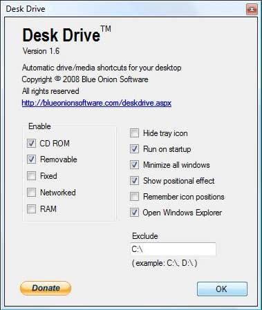 Accesos directos a tus unidades con Desk Drive - deskdrive
