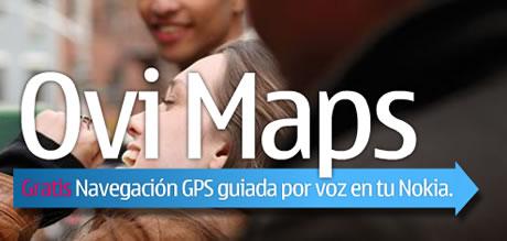 Navegador GPS con voz para nokia gratis - ovi-maps