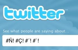 Twitter car esp Twitter ya acepta caracteres especiales en los hashtags