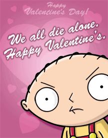 Tarjetas anti san valentin - anti-san-valetin