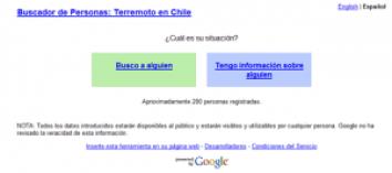 image137 300x133 Google apoya a Chile con un buscador de personas