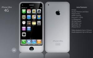iphone ultra 4g concept 300x189 Diseño muy interesante hecho por un fan del iPhone 4G