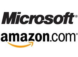 Microsoft y Amazon firman un acuerdo para compartir patentes - msft-amaz