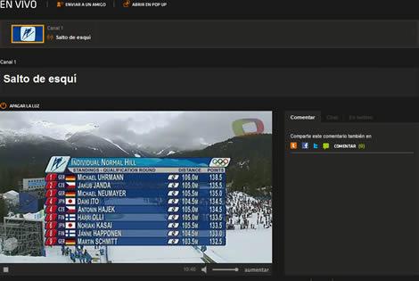 olimpiadas invierno online Olimpiadas Vancouver 2010 en vivo