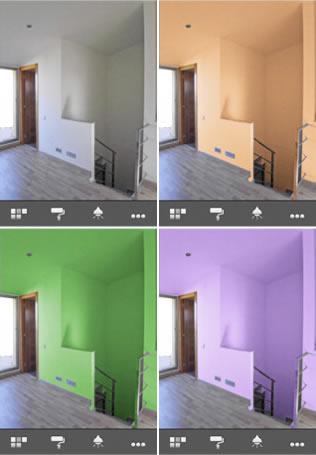 Escoger el color para tus paredes en tu iPhone con paintingWalls - pintar-paredes-iphone