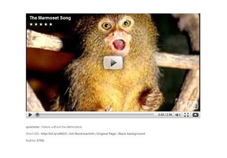 Ver videos de youtube sin distracciones, Quietube - quietube