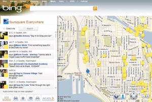 Bing se integrará con Foursquare - Foursquare-Everywhere-300x201