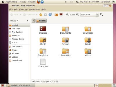 """Descarga los nuevos temas """"Light"""" que saldrán para Ubuntu 10.04 - SS_Selection_008"""
