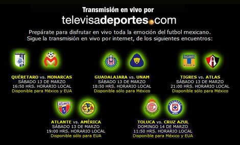 Chivas vs Pumas y más futbol en vivo por internet - chivas-pumas-en-vivo