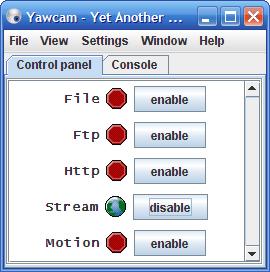 Detectar movimientos con tu WebCam, Yawcam - detectar-movimientos-webcam