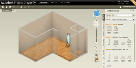Diseño de interiores con Autodesk DragonFly - diseno-interiores