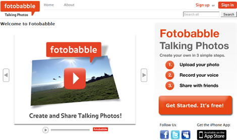Tarjetas con fotos y voz en Fotobabble - fotos-voz-fotobabble