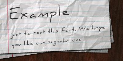 Fuentes manuscritas gratis para tus diseños - fuentes-manuscritas-daniel