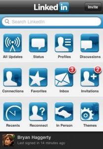 LinkedIn para iPhone se actualiza - linkediniphone-208x300