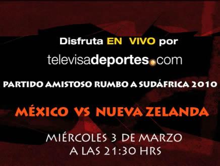 Mexico vs Nueva Zelanda en vivo por internet - mexico-contra-nueva-zelanda-en-vivo