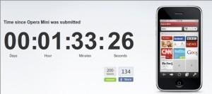 Opera Software ha enviado Opera Mini a Apple y ha organizado un concurso - operaminini-300x133