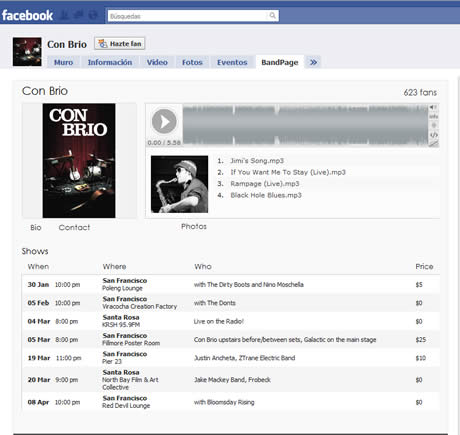 Paginas facebook para bandas con RootMusic - paginas-de-musica-facebook