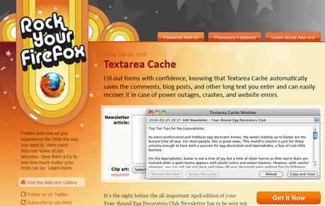 RockYourFirefox.com, addons recomendados para Firefox - personalizar-firefox