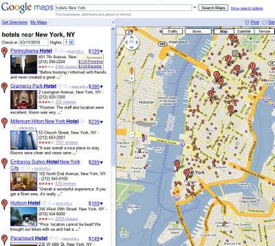 precio hoteles google maps Google Maps mostrará el precio de Hoteles