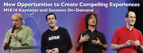 MIX10 de Microsoft, descarga las keynotes - videos-mix10-microsoft